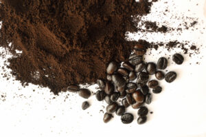 whole bean and ground espresso coffee